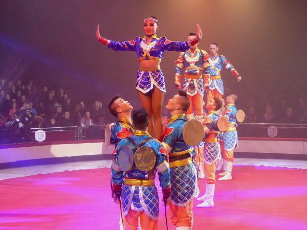 Zirkus festival Akrobatik Mongolei