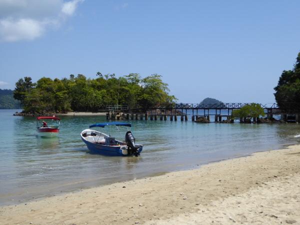 coiba island Panama strand