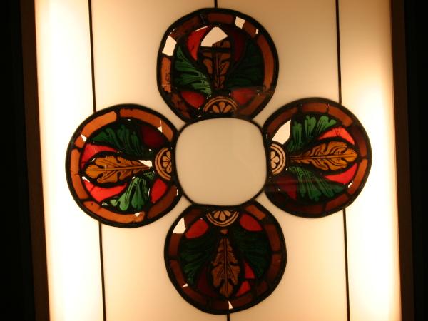 Bleiglasfenster Museu d art Girona