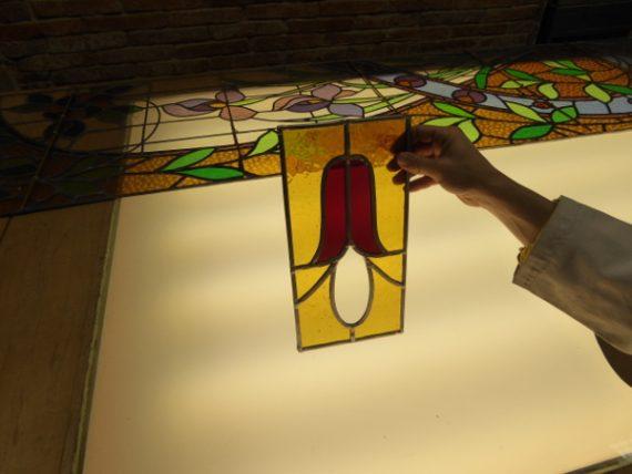 Kreativ in Girona: ich bastele ein Bleiglasfenster 5