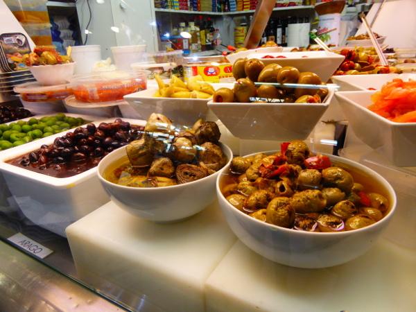 Food tour Gracia Barcelona Markt Mercat