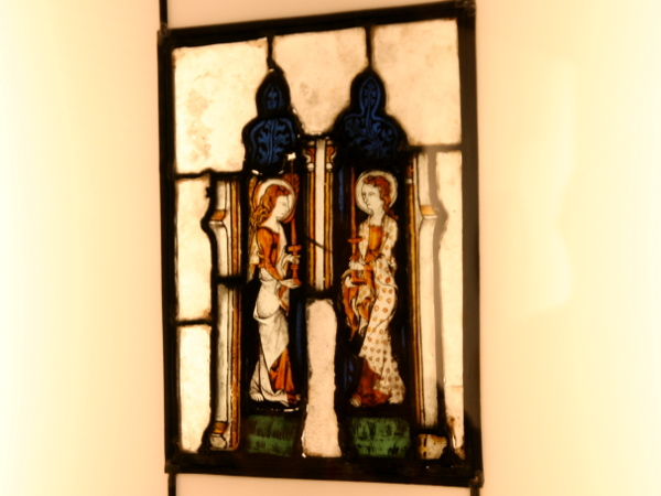 Girona Bleiglasfenster Museu d art