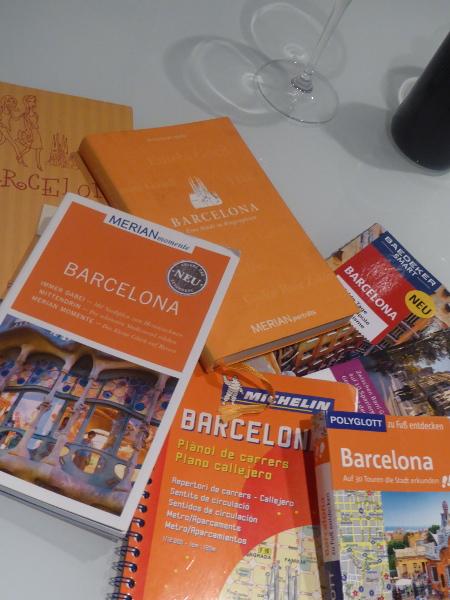 Reiseführer Vergleich Barcelona