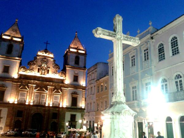 Salvador de Bahia Pelorinho Kreuz