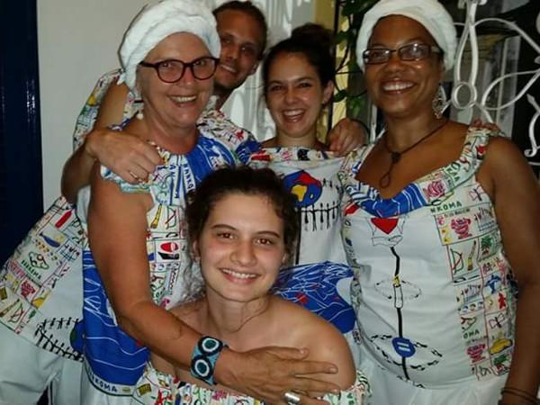 Salvador de Bahia karneval baianas afrobloco
