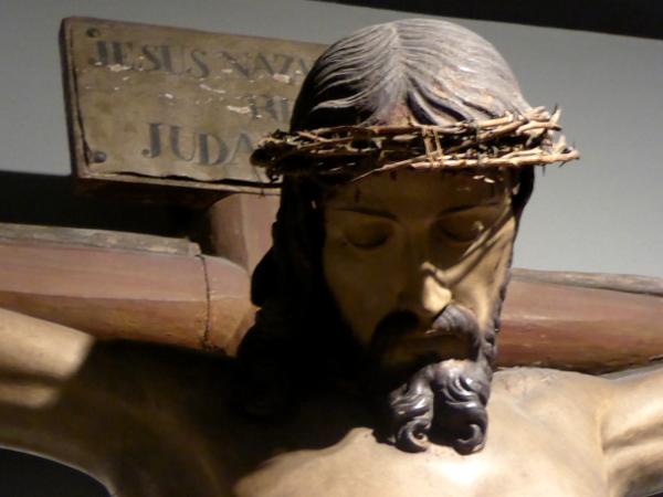 Sammlung Kreuzigung Museu frederic mares palau reial barcelona