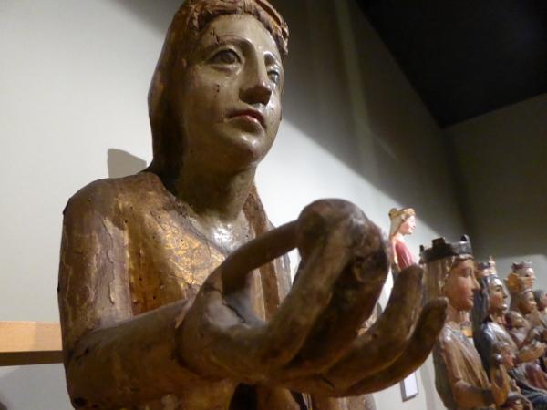 Sammlung Madonna mit kind Museu frederic mares palau reial barcelona