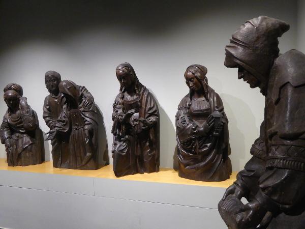 Sammlung figuren Museu frederic mares palau reial barcelona