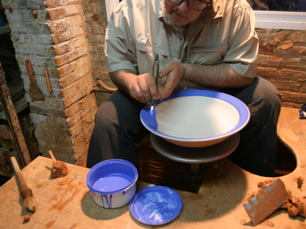 Töpfern Keramik Bemalen Yuma La Bisbal