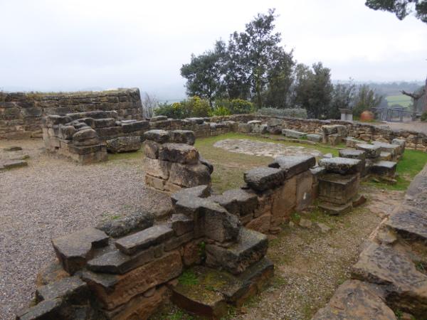 Ullastret Reste eines Tempels