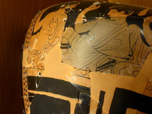 Ullastret wertvolle grriechische vasen repariert