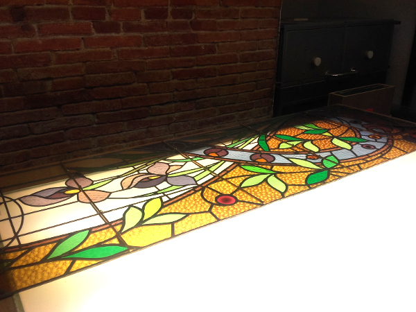 Werkstatt Girona Bleiglasfenster