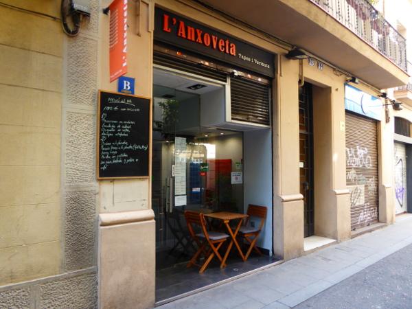 Food Tour gracia barcelona l anxoveta