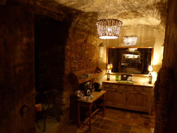 Can Bassa Madremanya Hotel Kaffee Ecke