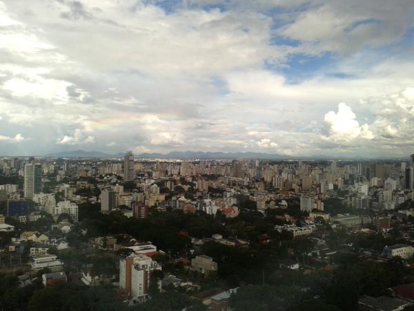Curitiba Brasilien blick