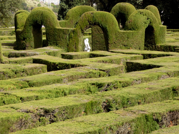 Labyrinth von Horta Barcelona Eros