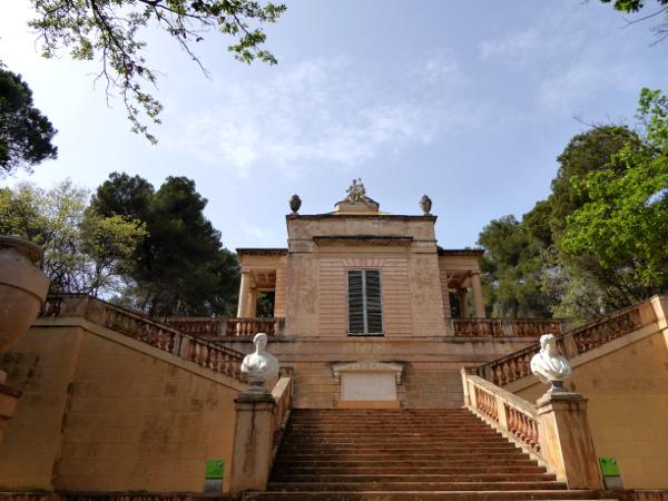 Labyrinth von Horta Gebäude Park del Laberinto
