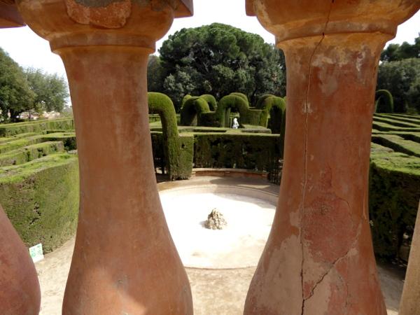 Labyrinth von Horta oben