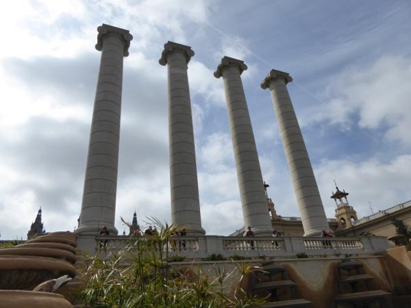 MNAC Barcelona Quatre columnes