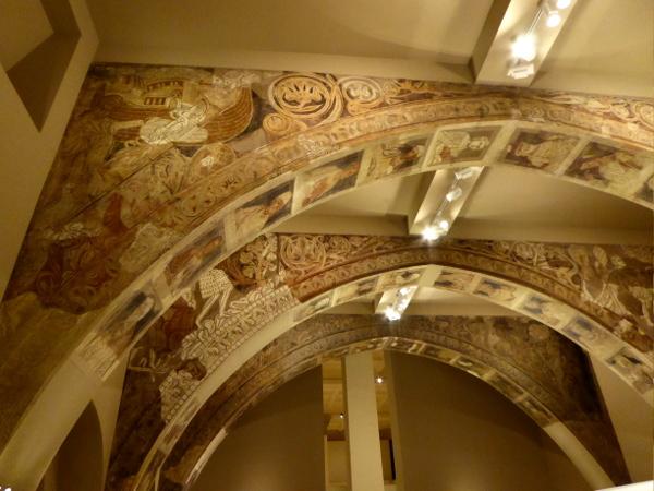 MNAC barcelona romanische Kunst sala capitular sixena
