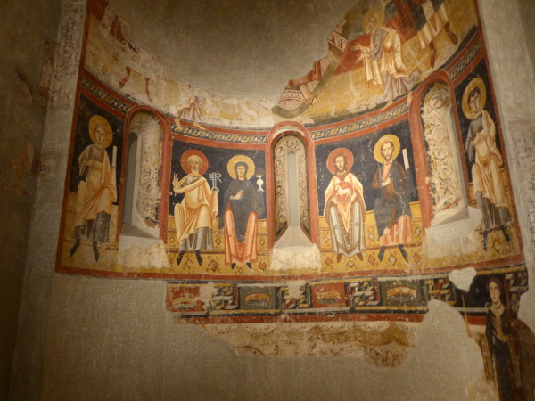 MNAC nachgebaute Kapelle