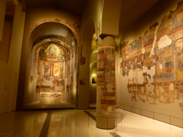 MNAC romanische Kunst Sammlung Barcelona santa Maria de tauell