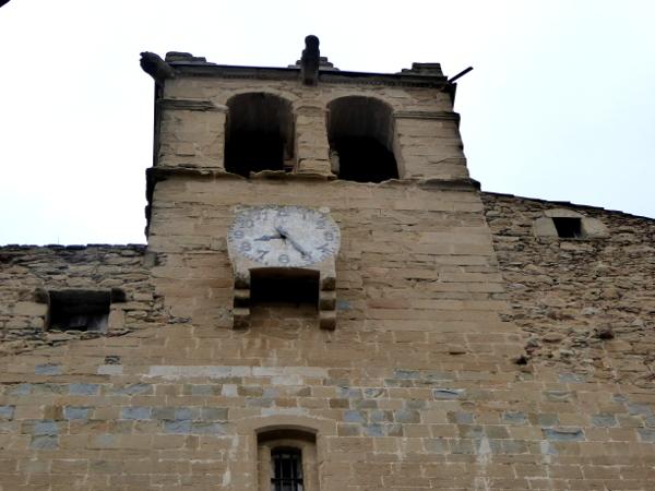 Madremanya Kirchturmuhr