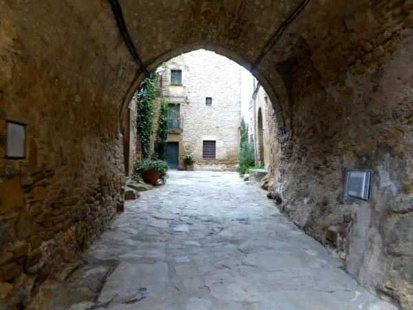 Madremanya mittelalterliches Dorf