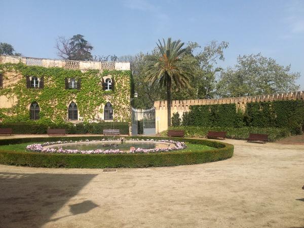 Parc Palau Labyrinth von Horta