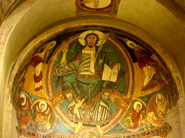 WAndmalereien Romanisch MNAC