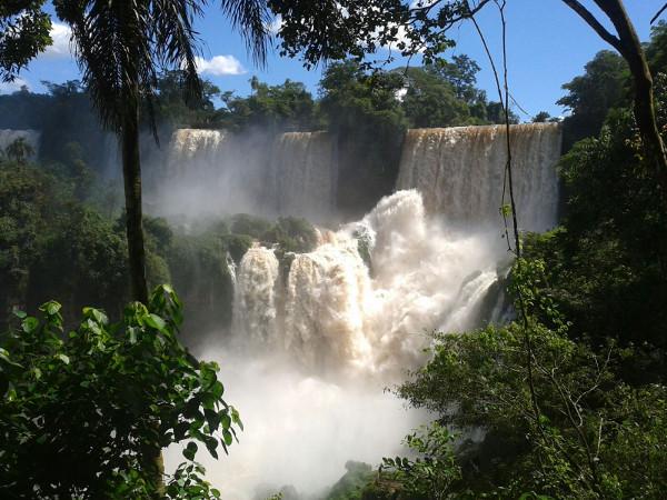 argentinische seite iguazu wasserfälle