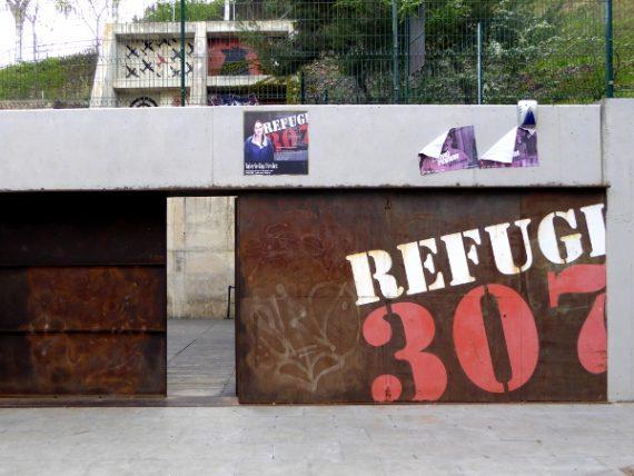 Refugi 307 - im Luftschutzbunker 6