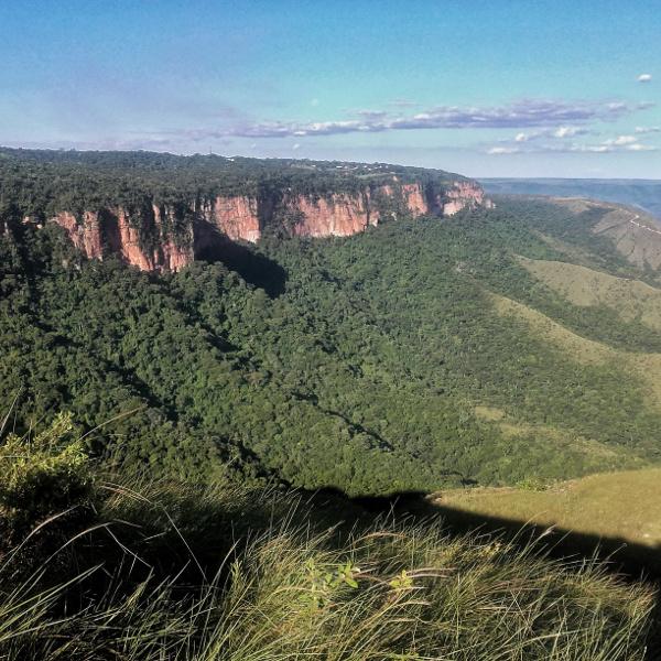 klippen rote Mato Grosso Brasilien