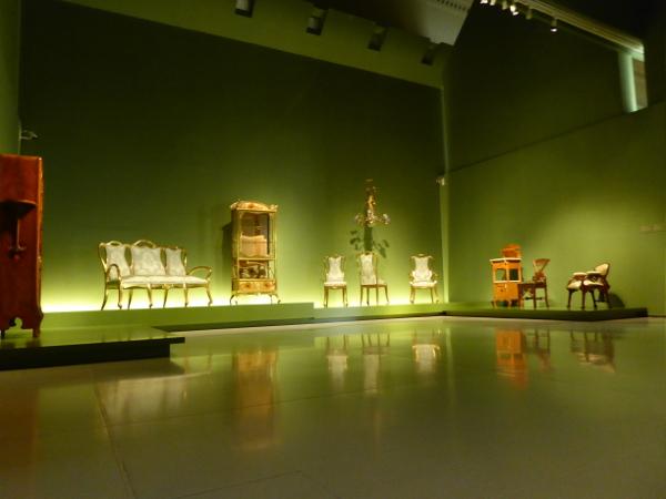modernistische Möbel MNAC