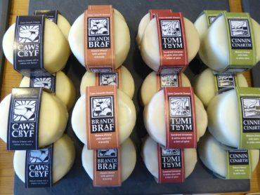 Feinschmecker Käse aus Wales - traditioneller Caerffili 1