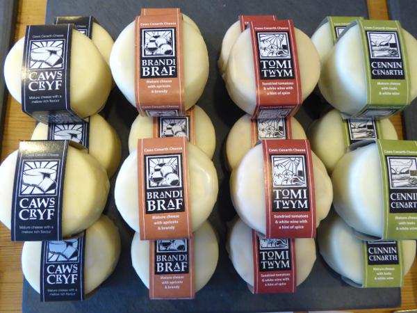 Caerffili Cheese Wales Caws cenarth