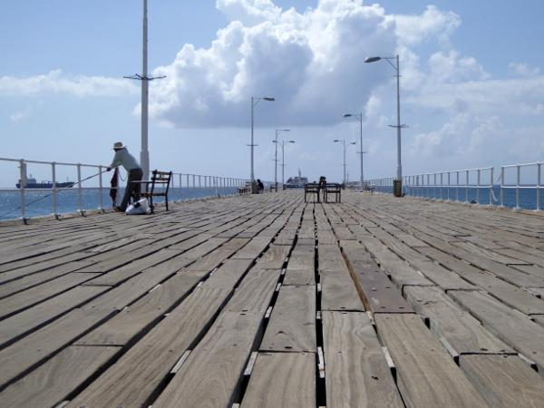 Hafen Lemesos Zypern limassol Angler