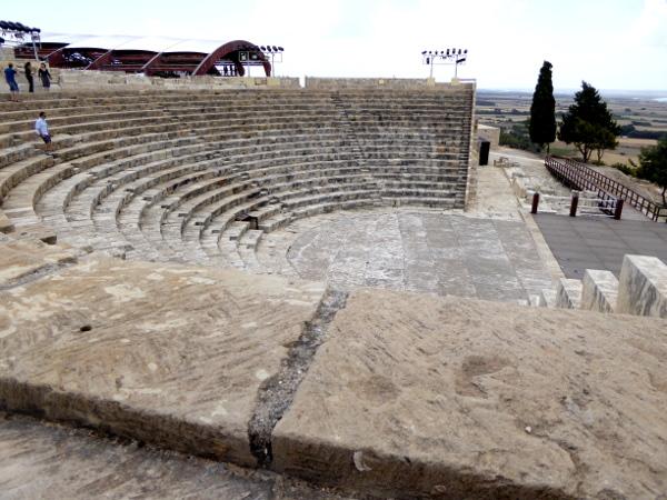 Kourion Amphitheater Zypern Limassol Lemesos