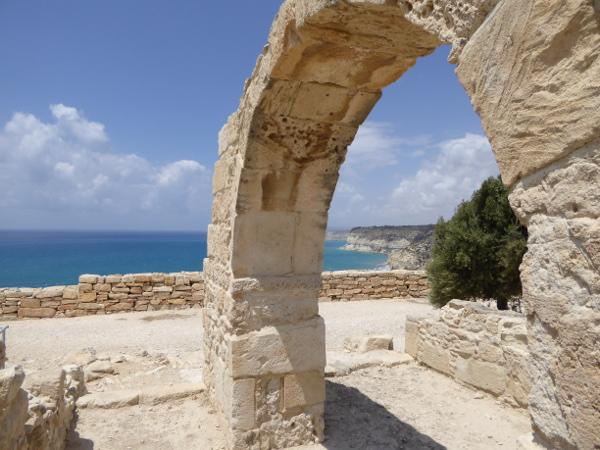Kourion Stadtkönigreich Zypern Lemesos Limassol