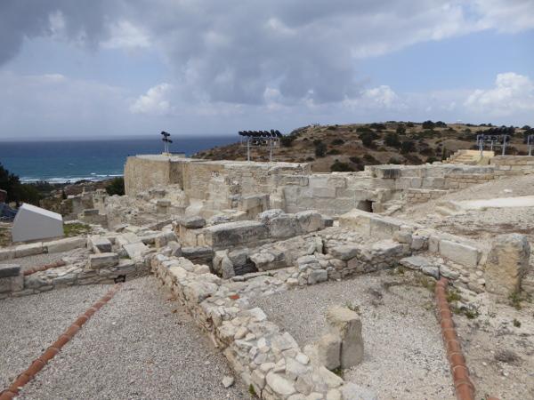 Kourion ausgrabungen Lemesos limassol Zypern
