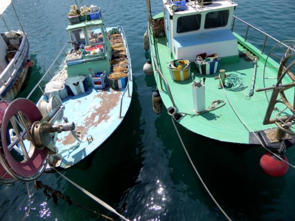 Lemesos fischerboote Hafen Limassol Zypern