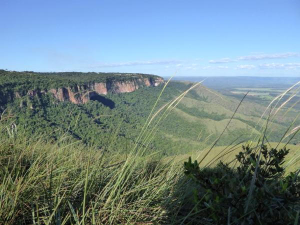 Parque nacional chapada dos guimaraes mato Grosso Brasilien