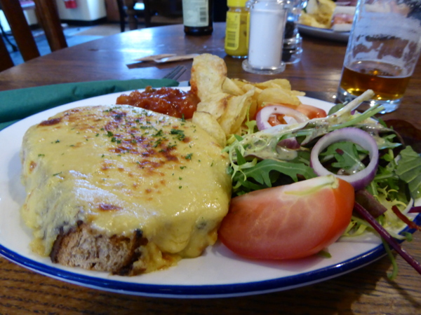 Wales Essen Welsh Rarebit