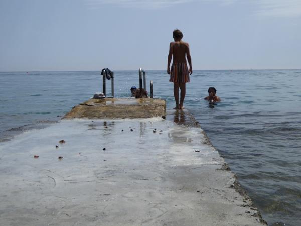 baden strand zypern lemesos limassol