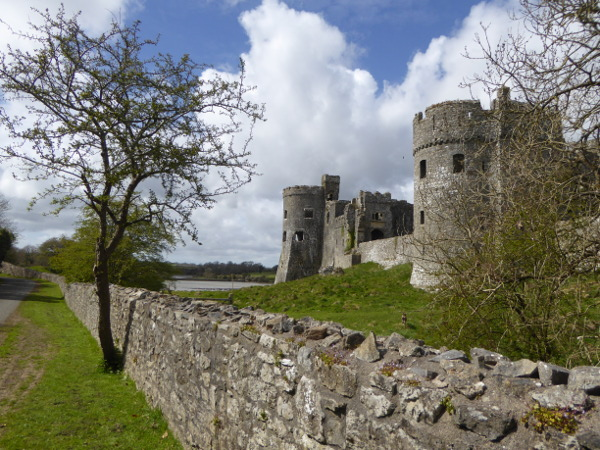 carew castle wales