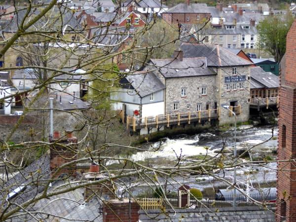corn mill muehle llangollen Wales
