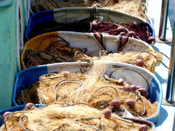 fischernetze Hafen Lemesos