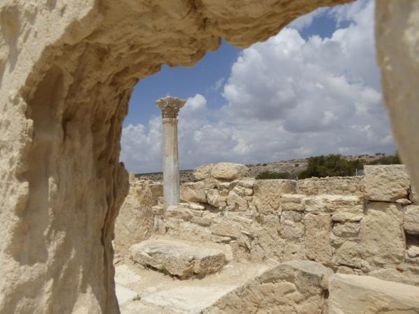 lemesos Kourion zypern ausgrabung
