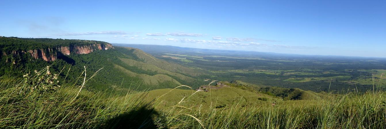 panorama chapada dos guimaraes brasilien
