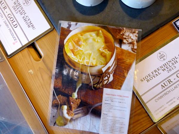 rezepte Caerffili Cheese Wales Caws cenarth